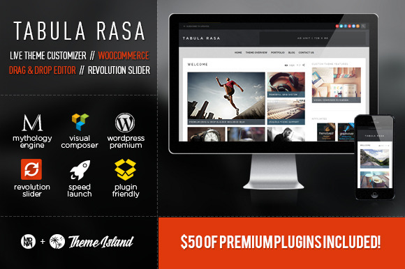 Tabula Rasa WP Magazine Corporate