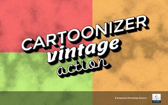 Cartoonizer Photoshop Actions