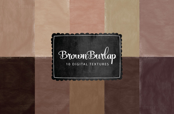 Brown Burlap Textures