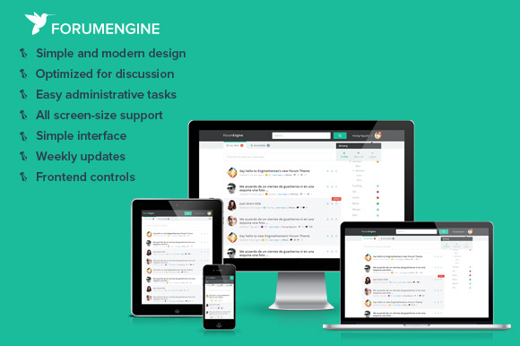 ForumEngine WordPress Forum Theme