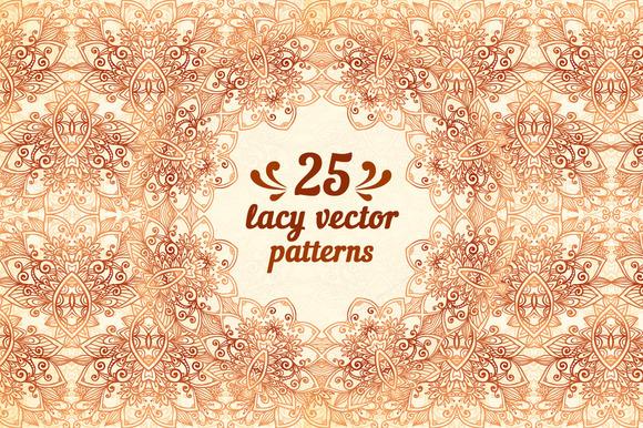 25 Wonderful Vintage Vector Patterns