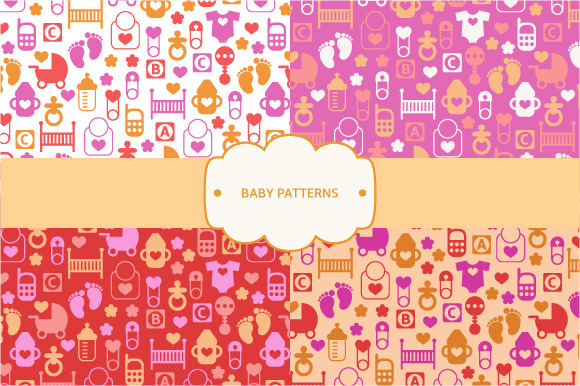 Seamless Baby Patterns