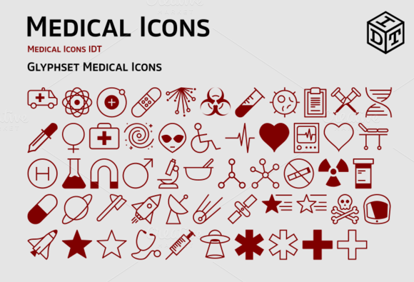 Medical Icons Web Font