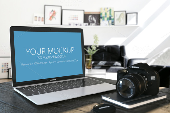 MacBook Mockup 02
