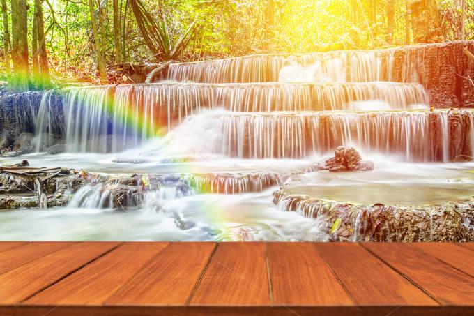 Sandra orlow waterfall pic set designtube creative for Waterfall set design