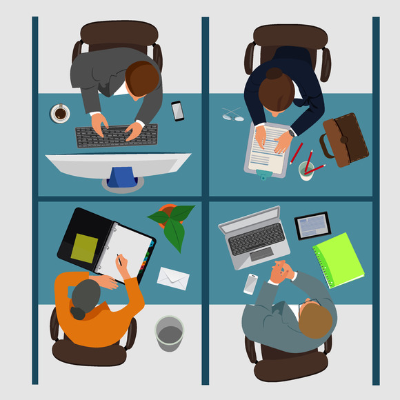 Business Workplace Vector