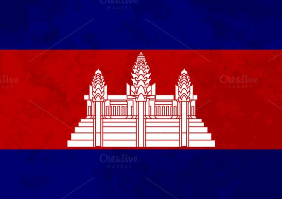 True Proportions Cambodia Flag