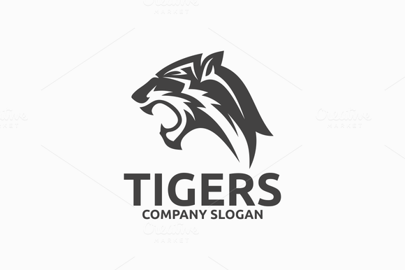 Black And White Tigers Lions Drawings Designtube