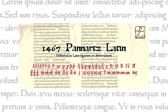 1467 Pannartz Latin OTF