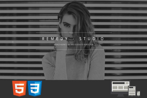 Remedy One MultiPage HTML Template