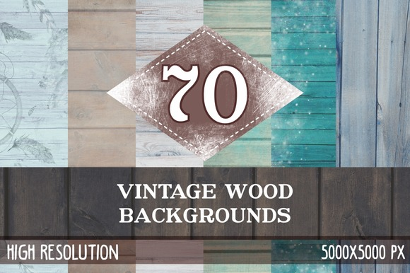70 Vintage Wood Textures 40% Off
