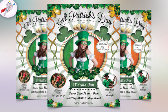 St Patrick's Day Party Flyer