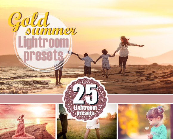 Golden Hour Summer Lightroom Presets