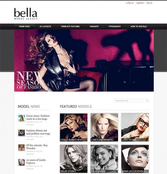 Hot Model Agency For Joomla