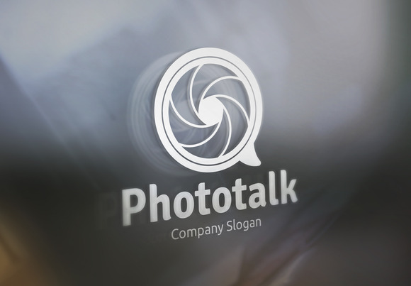 Photo Talk Logo
