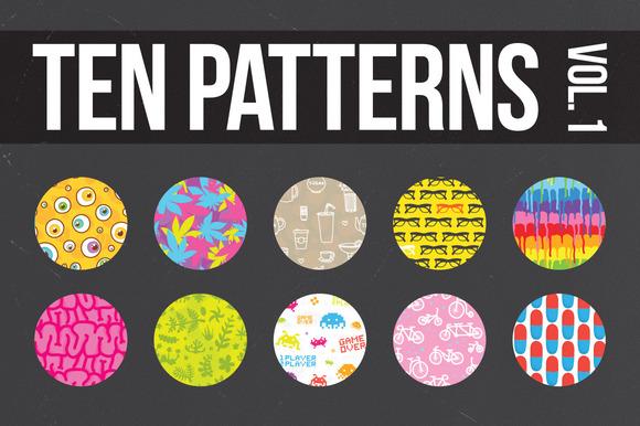 Ten Awesome Patterns Vol.1