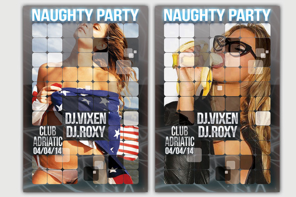 Naughty Party Card