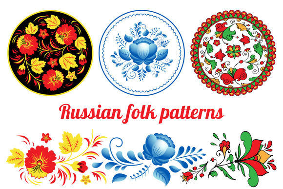 Russian Folk Patterns