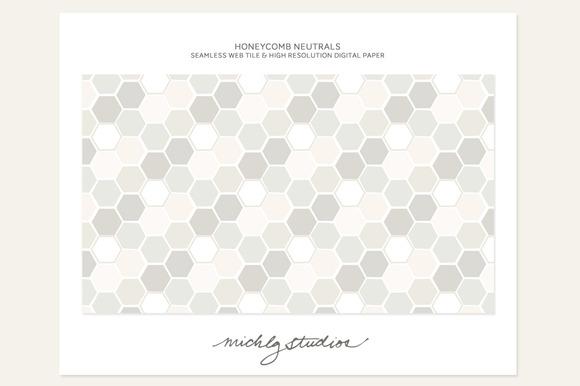 Honeycomb Neutrals Webtile Digi..