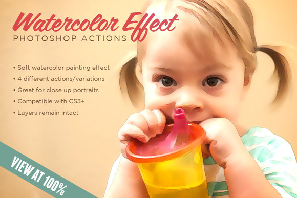 Watercolor Effect Action 1