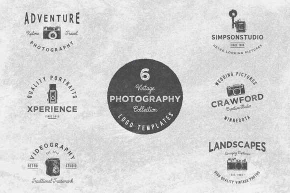Vintage Potography Logo Collection