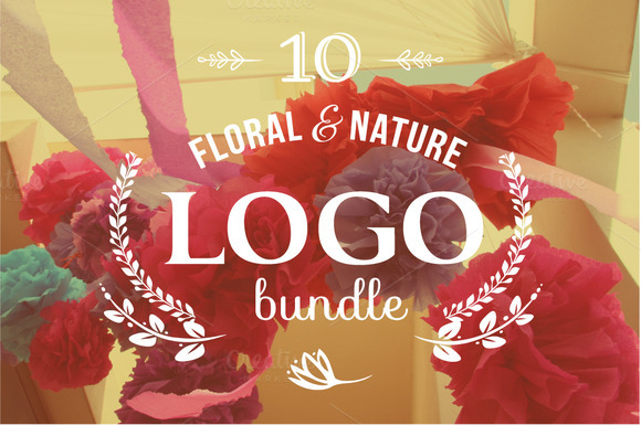 10 Floral Logos