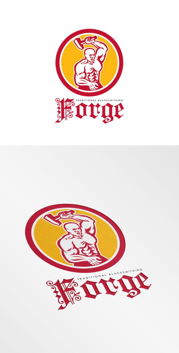 Forge Traditional Blacksmithing Logo
