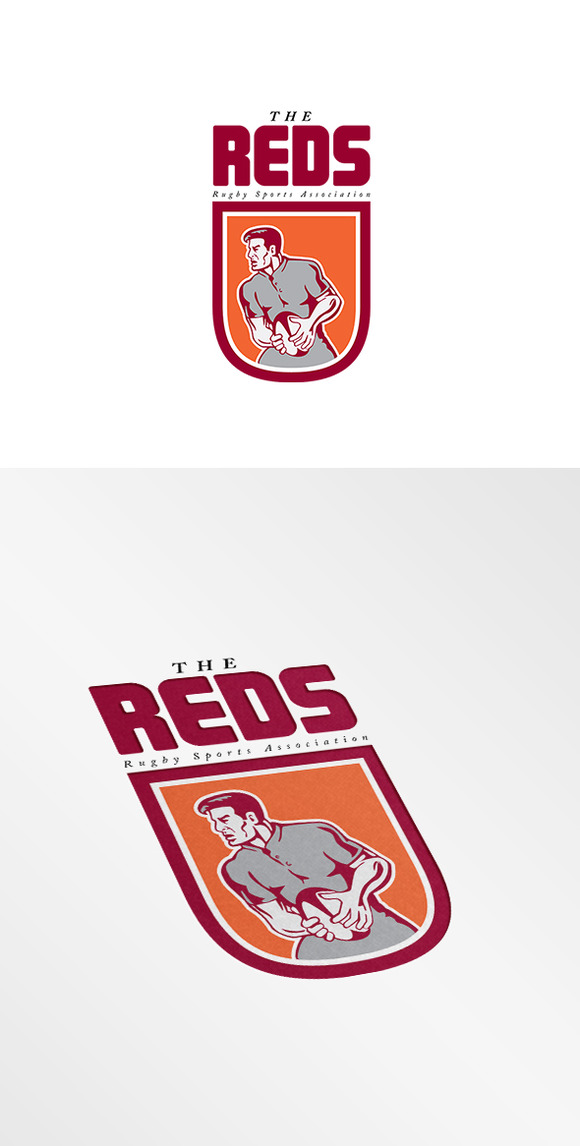 The Reds Rugby Association Logo