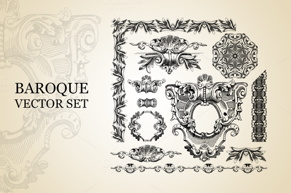 Baroque Vector Set