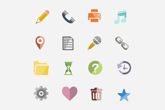 Shade Icon Set