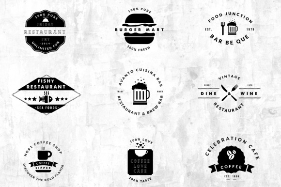 09 Vintage Logos Restaurant Cafe