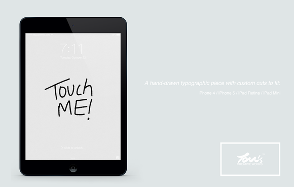 Touch ME Hand-Drawn Series