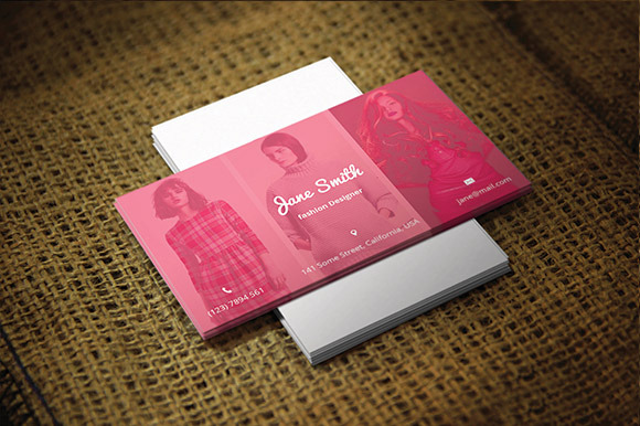 Business Card For Fashion Designers