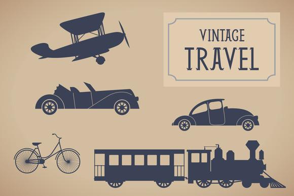 Vintage Traveling Set