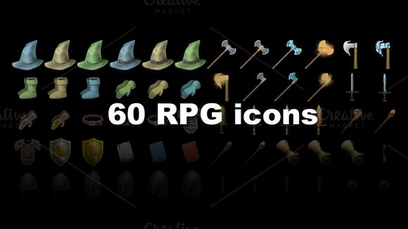 Fantasy RPG Items Vol 2