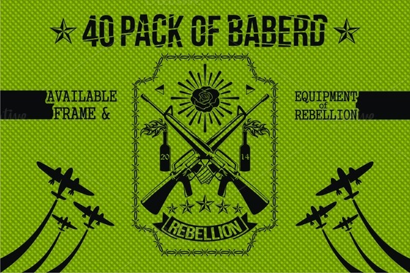 40 PACK OF BABERD