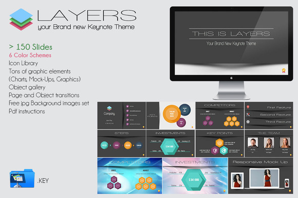 Layers Over 150 Rad Keynote Slides