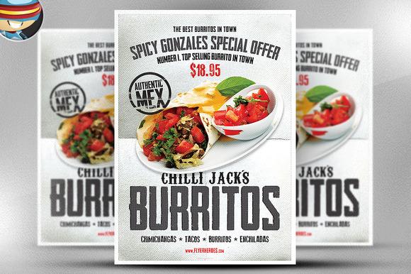 Chilli Jack S Burrito Poster