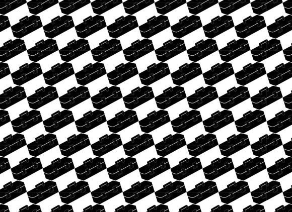 Seamless Pattern Background Of Tool