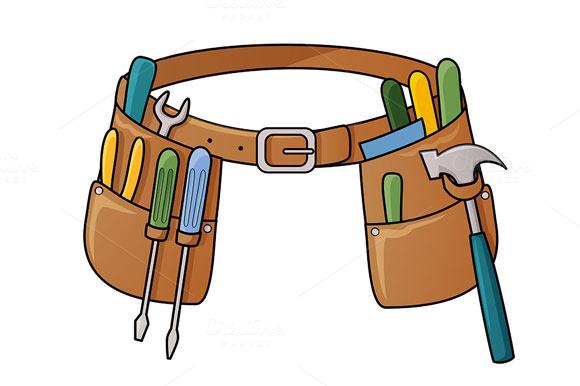 Stock Illustration Of Tool Belt