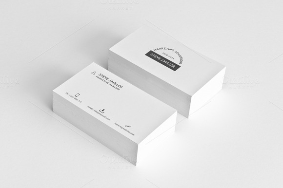 Minimal Business Card Vol.4