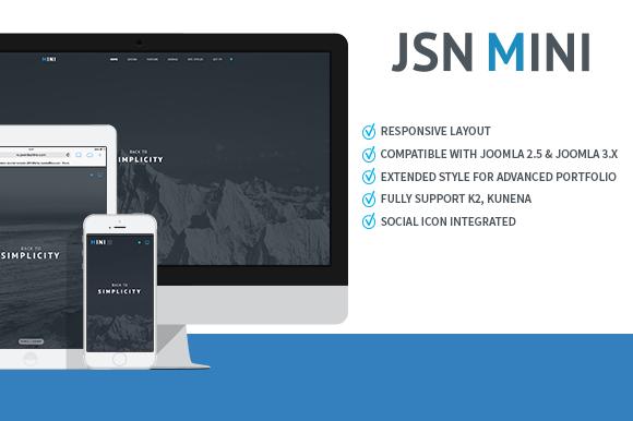 JSN Mini-Joomla Portpolio Template
