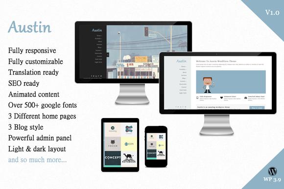Austin Creative WordPress Theme