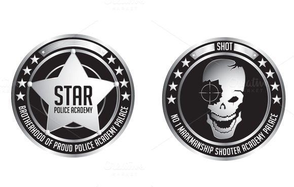 Gaming Badges Vector