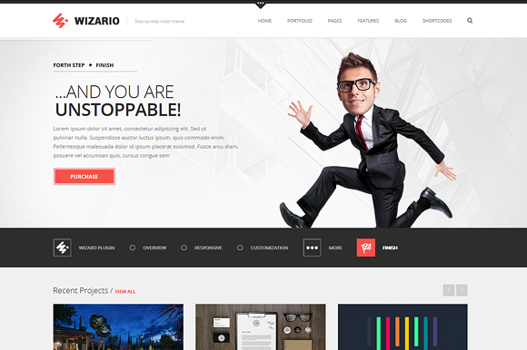 Wizario Corporate Portfolio WP