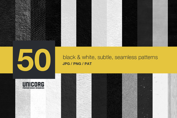 50 High Resolution Seamless Patterns