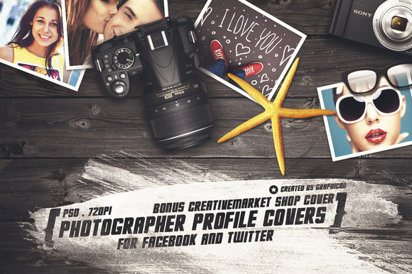 Photographer Profile Header Covers