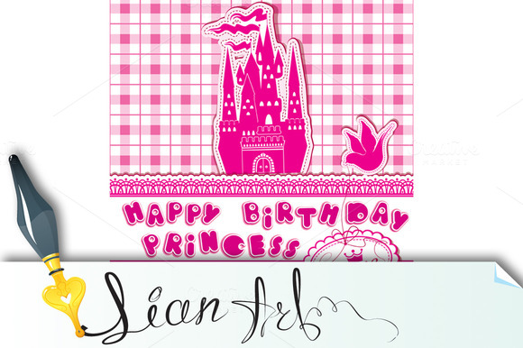 Happy Birthday Invitation Card