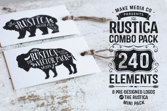 Rustica Combo Pack Mini Pack