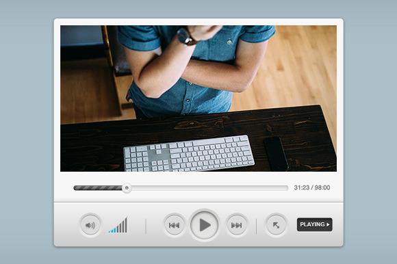 Media Player Widget